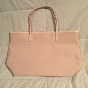 Givenchy Bags - GIVENCHY Faux Leather Cream Canvas Tote 33feddedc71c9